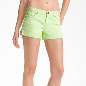 Sanctuary Perfect Fit Cuff Denim Shorts